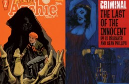 Criminal the Last of the Innocent & Afterlife with Archie Covers