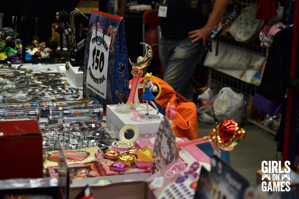 Vendor booth at Otakuthon 2015