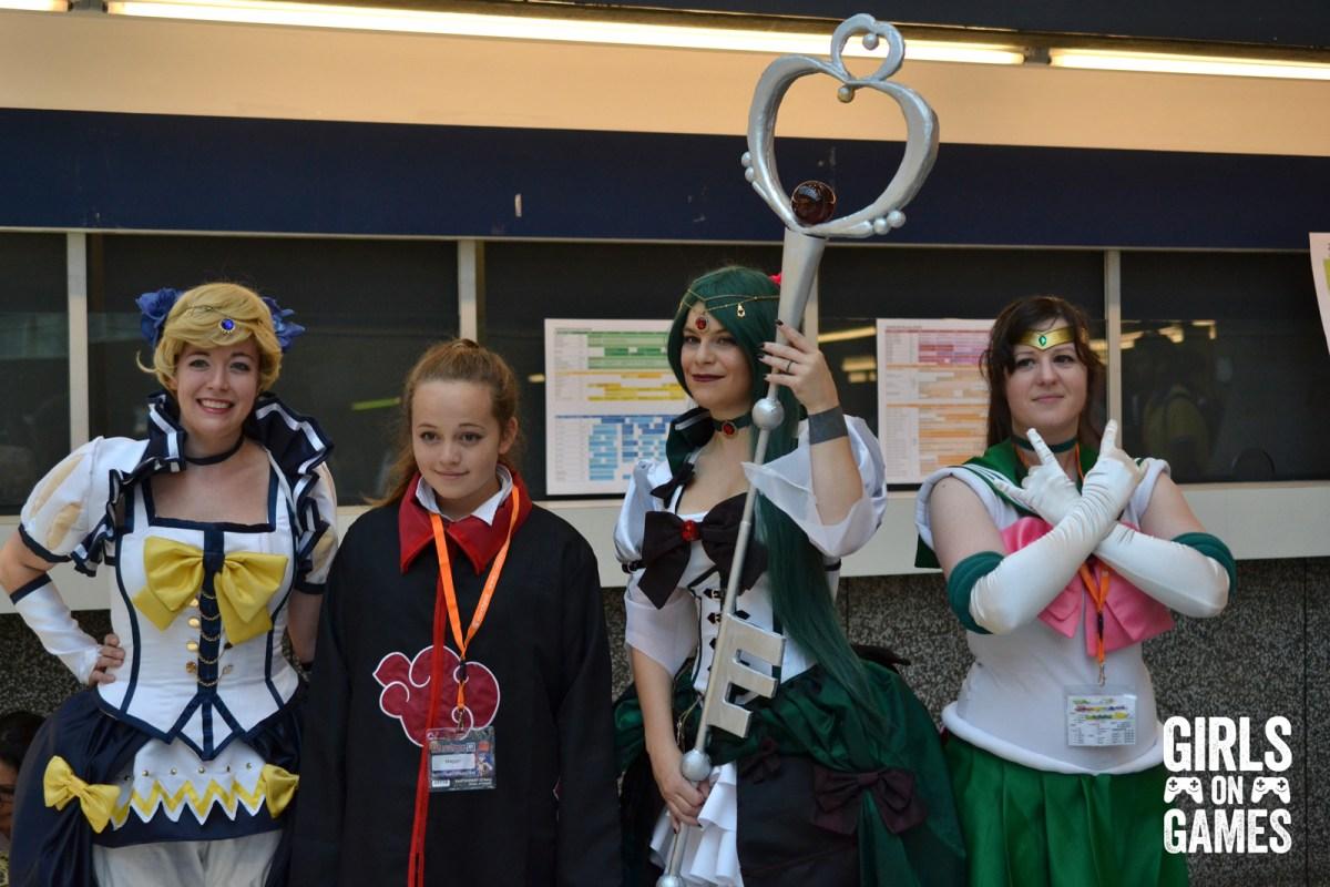 Sailor Moon cosplay at Otakuthon 2015