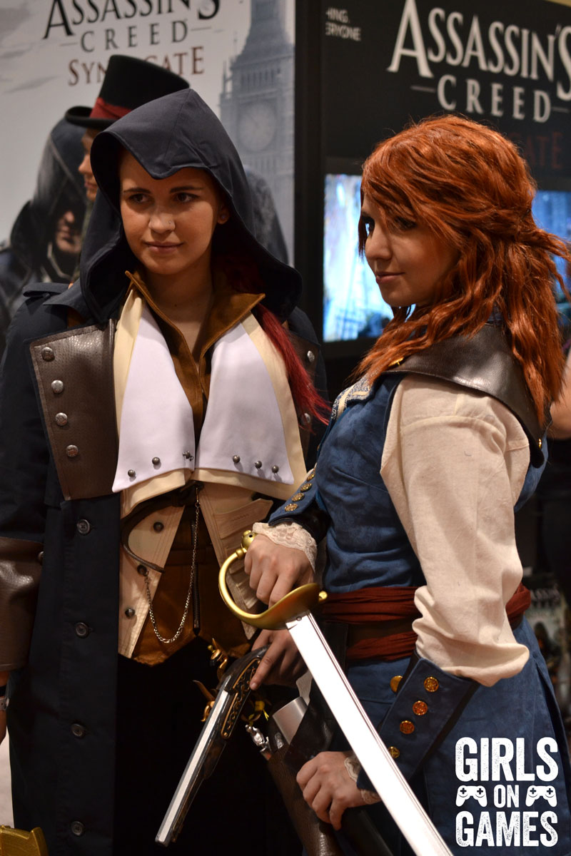 Elise and Arnaud from Assassin's Creed Unity at Fan Expo 2015