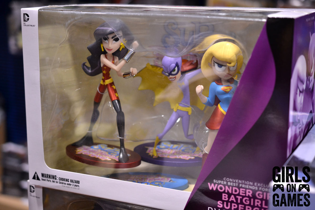 DC Comic toys at Fan Expo 2015