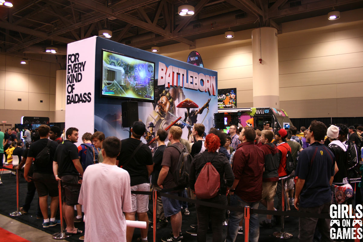 Battleborn at Fan Expo 2015
