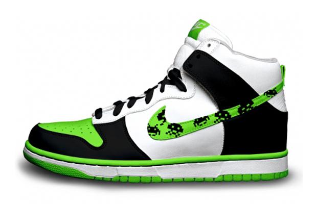 Space Invaders Nike Sneakers