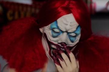 Until Dawn Clown Makeup Tutorial by Madeyewlook