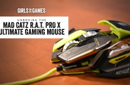 Mad Catz R.A.T. Pro X Ultra Gaming Mouse unboxing