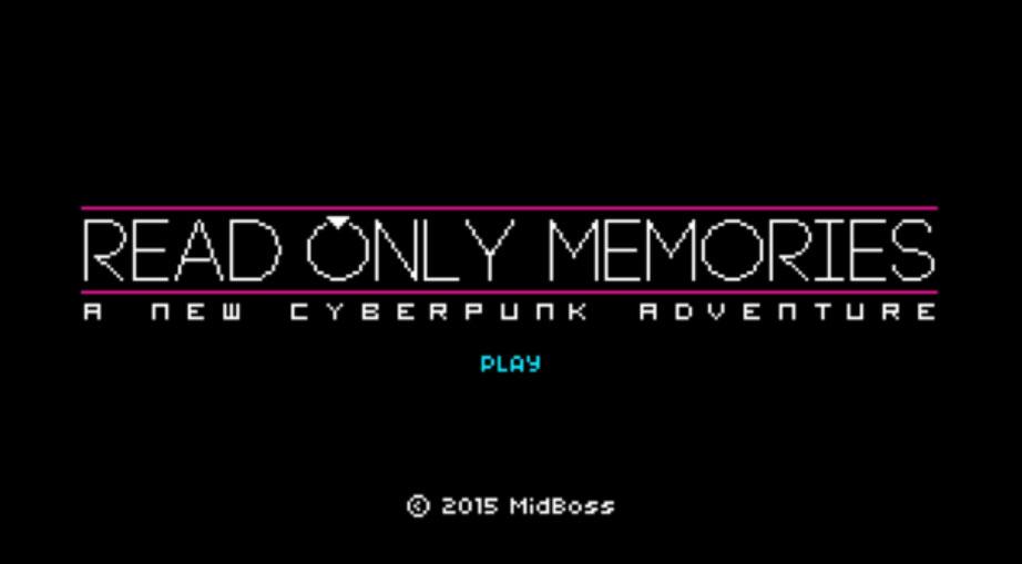 Read Only Memories screenshot