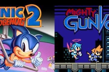 Sonic the Hedgehog 2 & Mighty Gunvolt