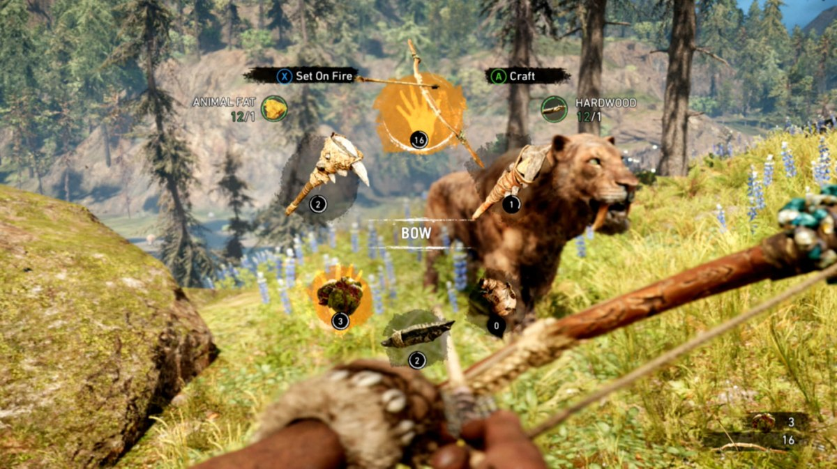 Choose Your Weapon - Far Cry Primal