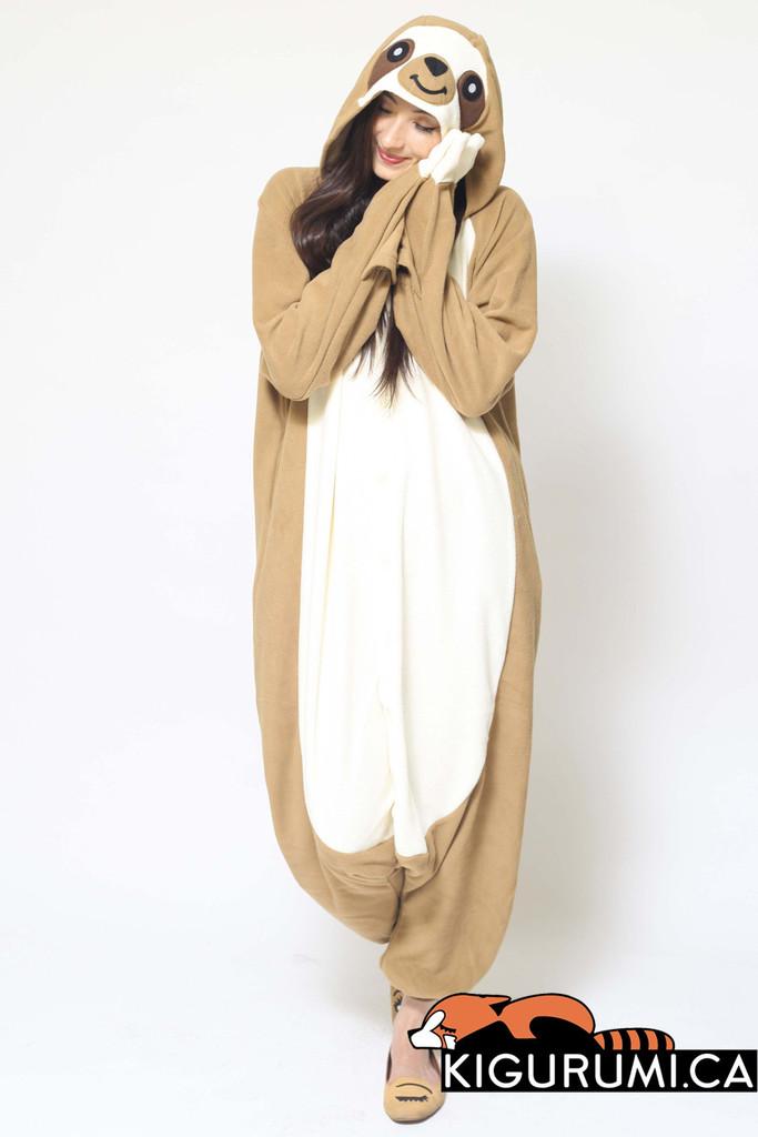 Sloth Kigurumi Onesie