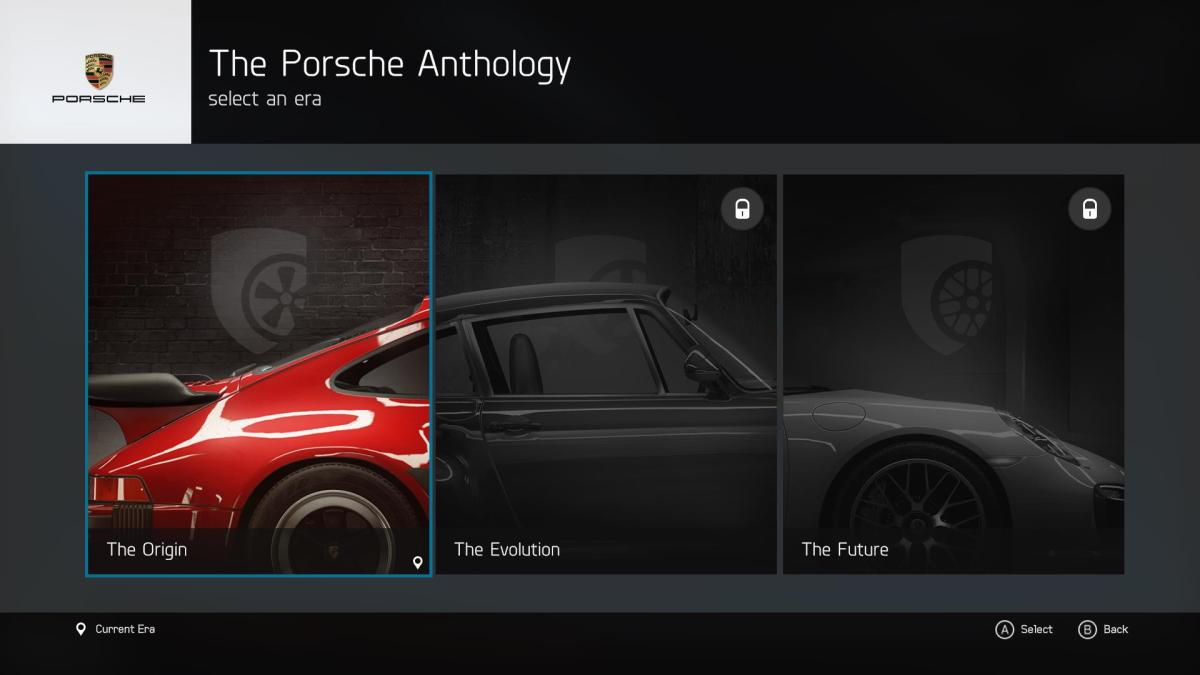 Porsche expansion categories