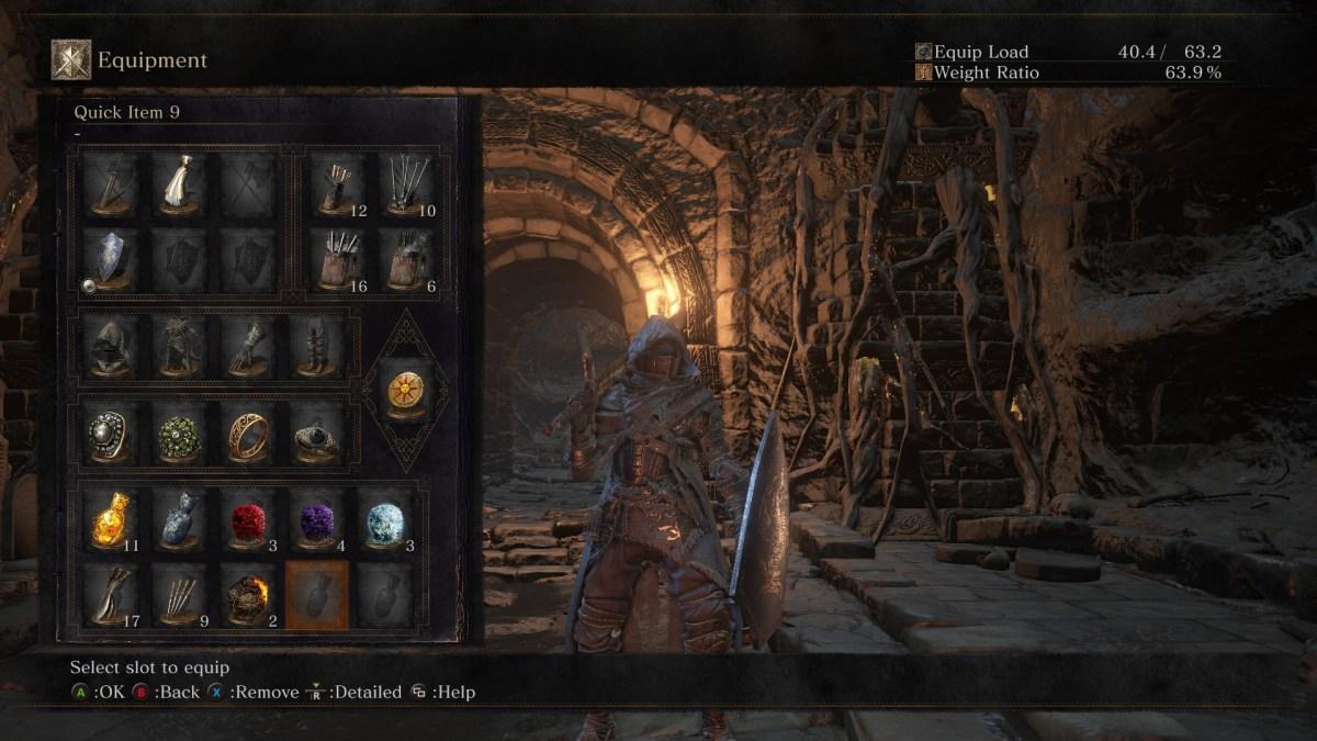 Equipment Screen - Dark Souls 3 - girlsongames.ca