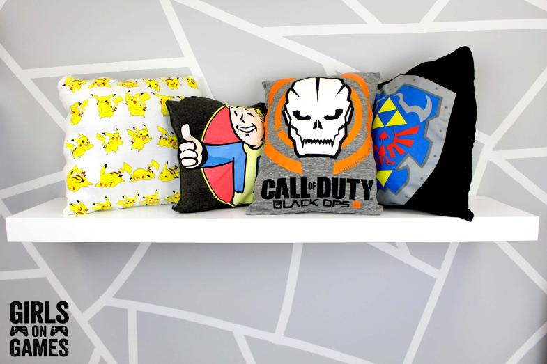 Geeky DIY No Sew Pillows Final