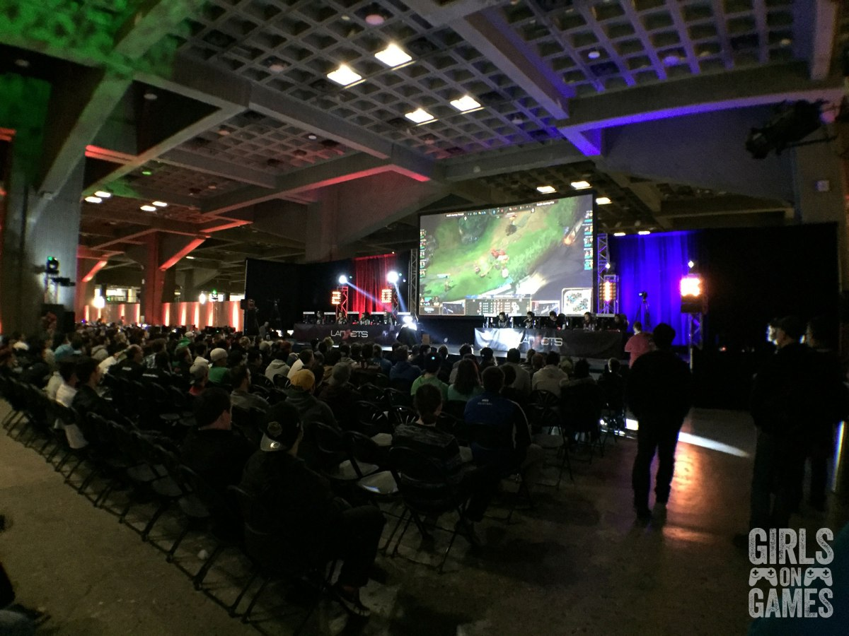 League of Legends Finals at LAN ETS 2016
