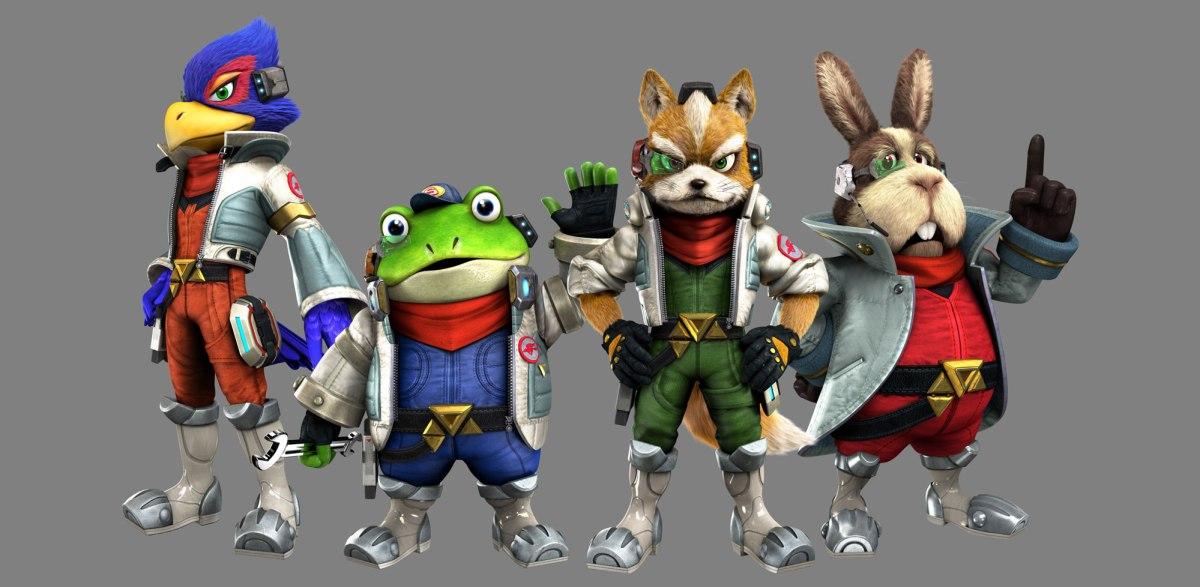 Falco Lombardi, Slippy Toad, Fox McCloud, & Peppy Hare from Star Fox Zero - from Nintendo