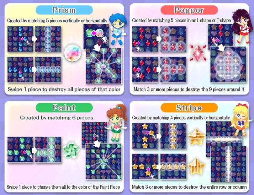 Sailor Moon Drop Special Pieces