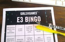 E3 Bingo Card Feature Image