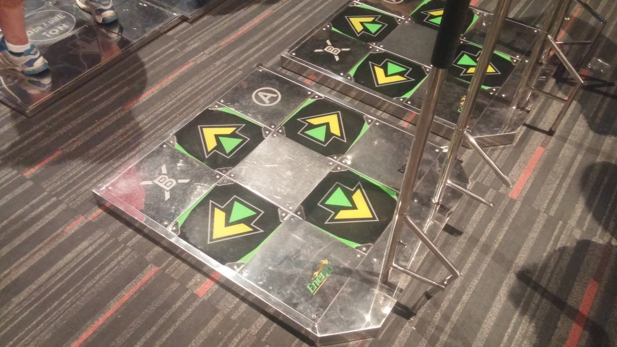 The DDR mats!