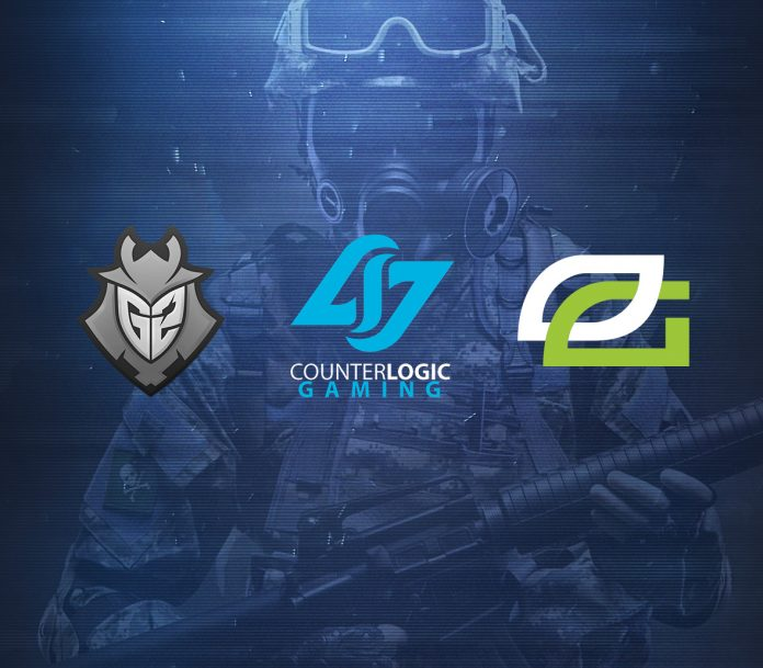 Final three invite teams for Northern Arena CS:GO finals: G2 Esports, OpTic Gaming, and Counter-Logic Gaming