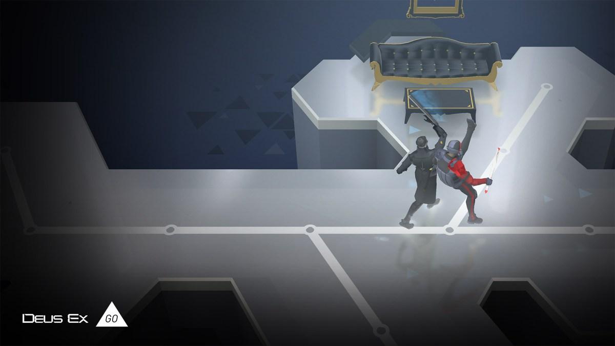 Deus Ex GO screenshot from Square Enix Montreal