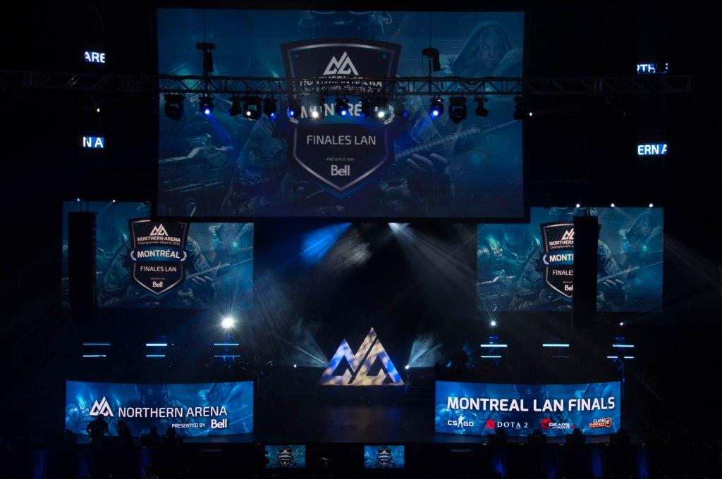 Northern Arena Montreal LAN Finals