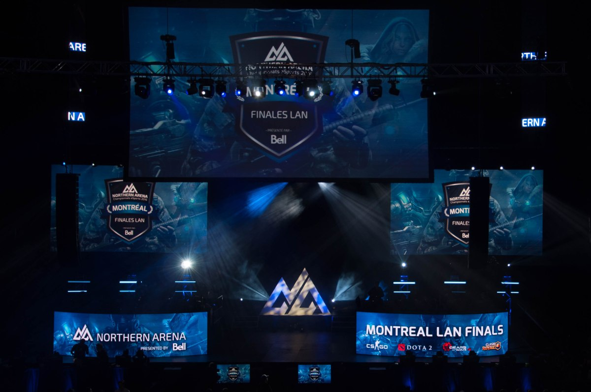 Northern Arena Montreal LAN Finals 2016