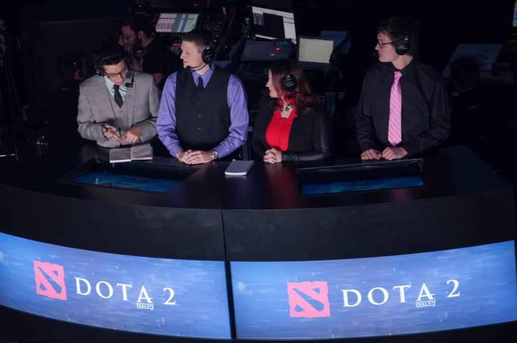 Northern Arena Montreal LAN Finals DOTA 2 Panelists