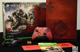 Xbox One S Gears of War 4 Limited Edition Bundle