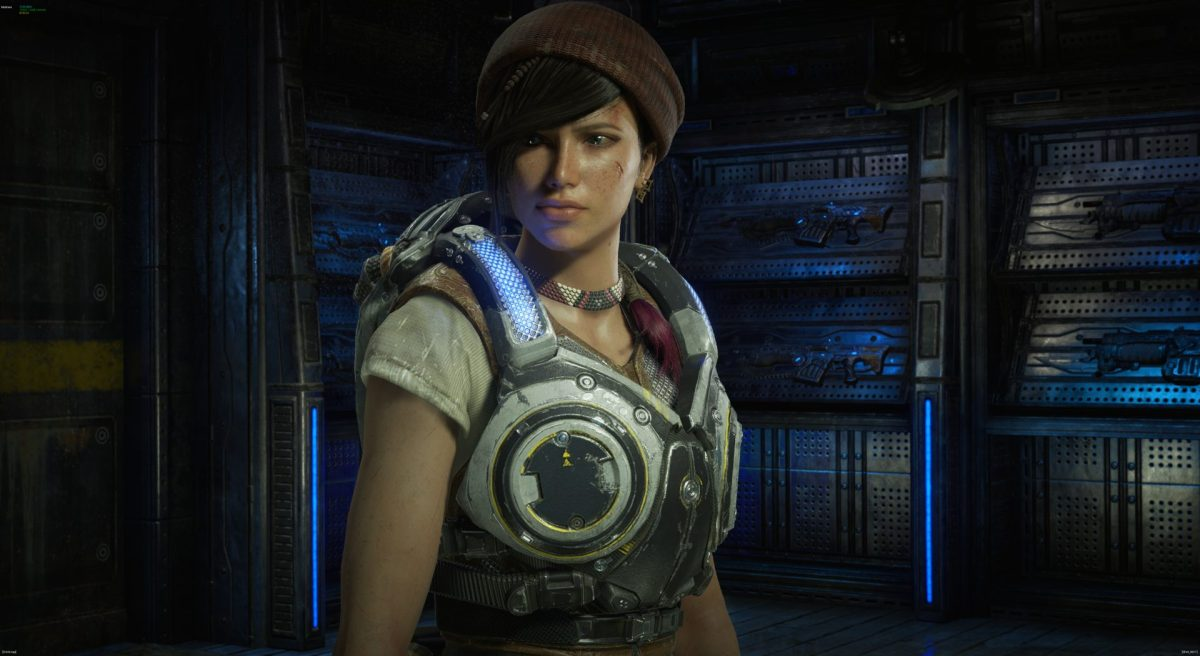 Kait, one of the best new additions to the Gears of War squad.