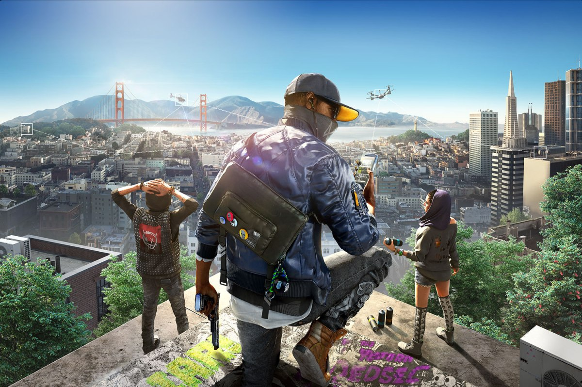 Watch Dogs 2 Skyline. Image from Ubisoft.