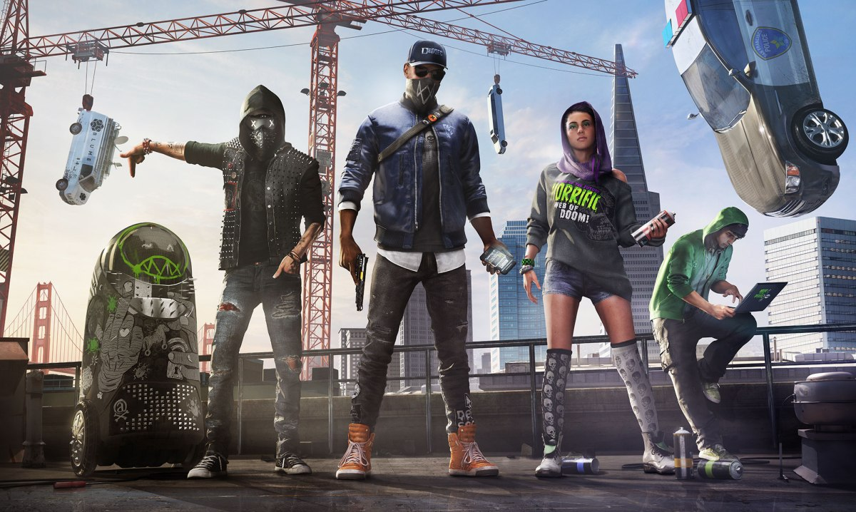 Watch Dogs 2 Family Shot. Image from Ubisoft.