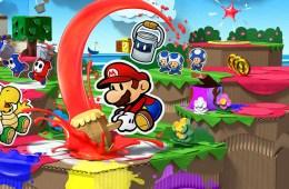 Paper Mario: Color Splash Artwork