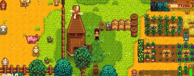My second farm in Stardew Valley (via Girls on Games)
