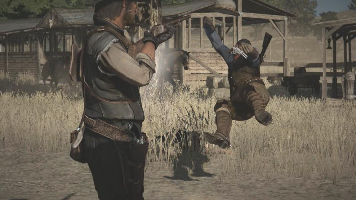 Red Dead Redemption's shooting