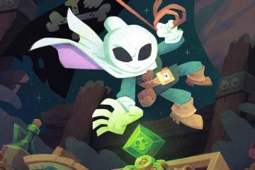 Flinthook keyart by Tribute Games