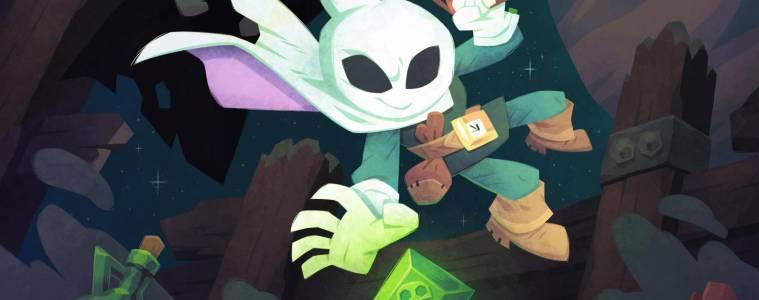 Flinthook keyart by Tribute Games