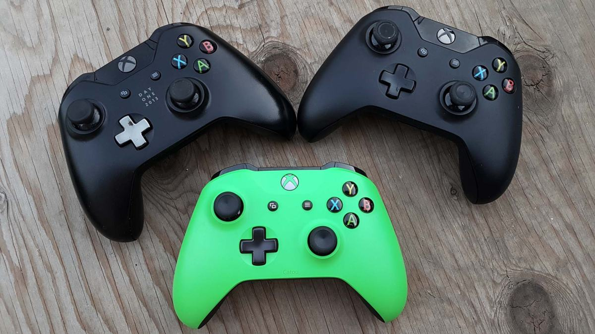 All my Xbox One Controllers