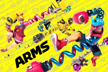 ARMS artwork. Image from Nintendo