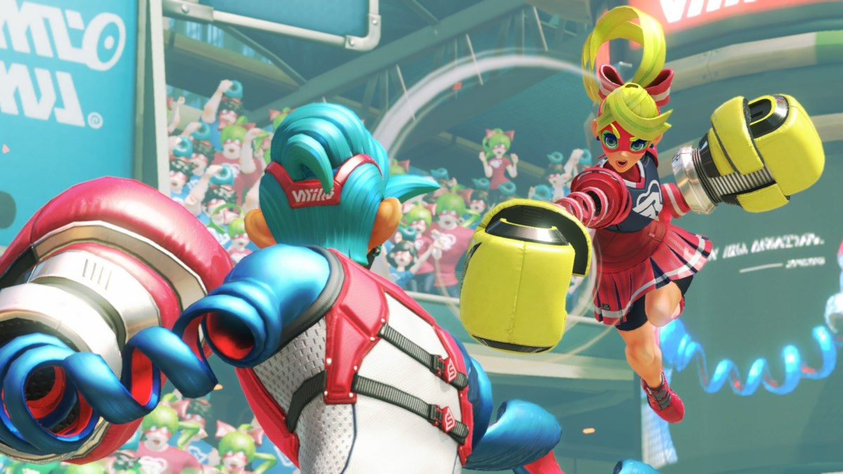 ARMS for the Nintendo Switch screenshot. Image from Nintenod