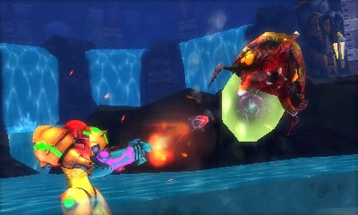 Metroid: Samus Returns screen shot. © Nintendo