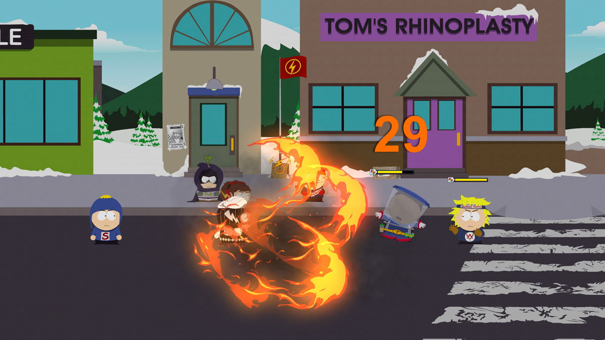 South Park: The Fractured But Whole Combat