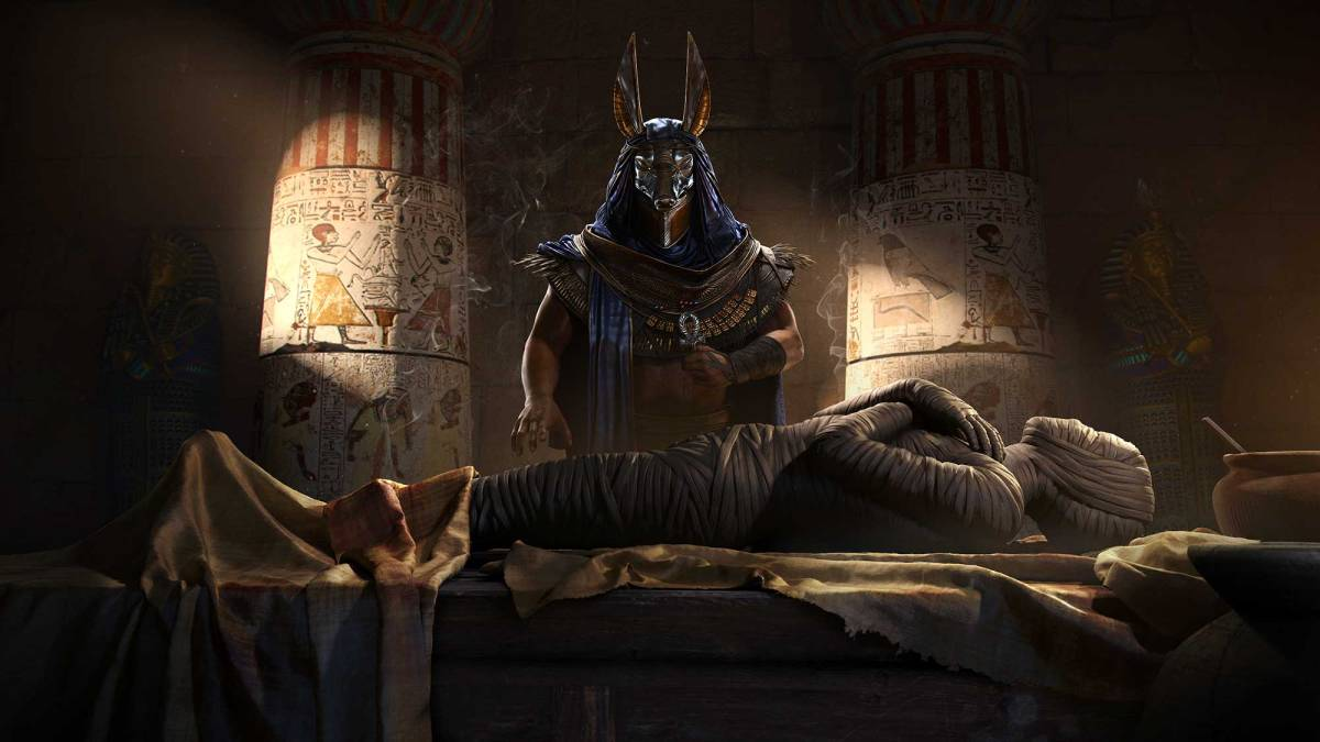 Assassin's Creed Origins Artwork. Photo from Ubisoft