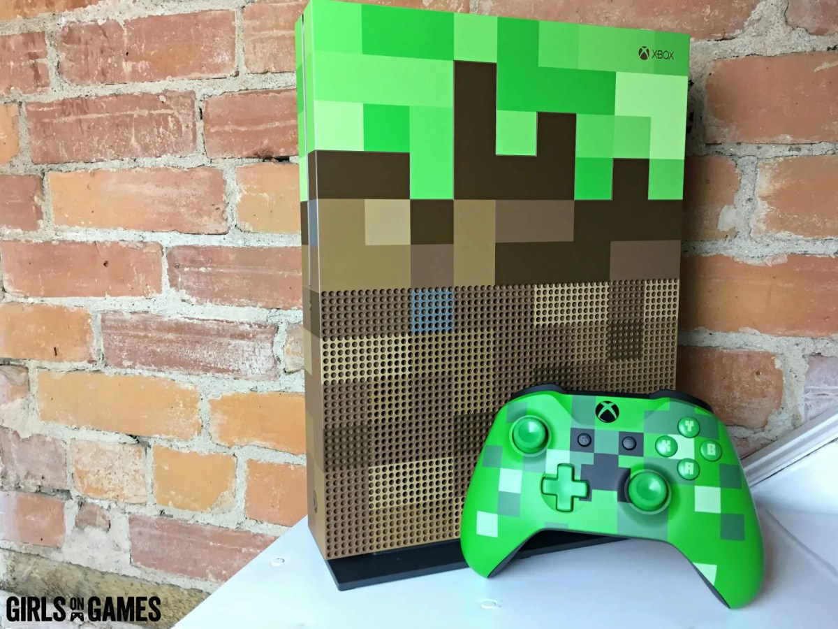 Minecraft Xbox One S Console