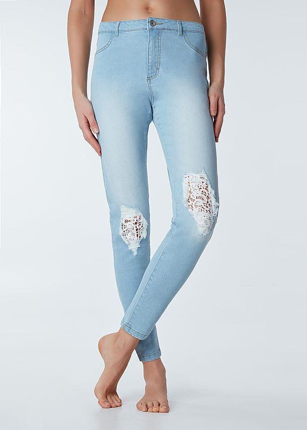 leggins in jeans calzedonia