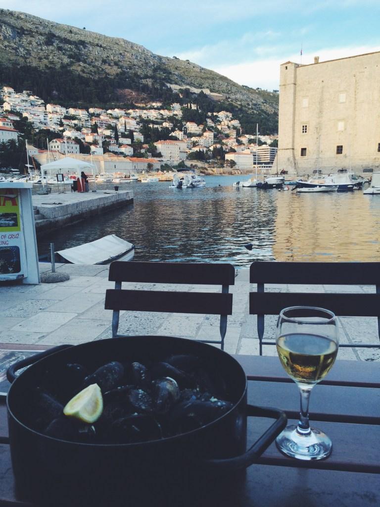local food in Dubrovnik
