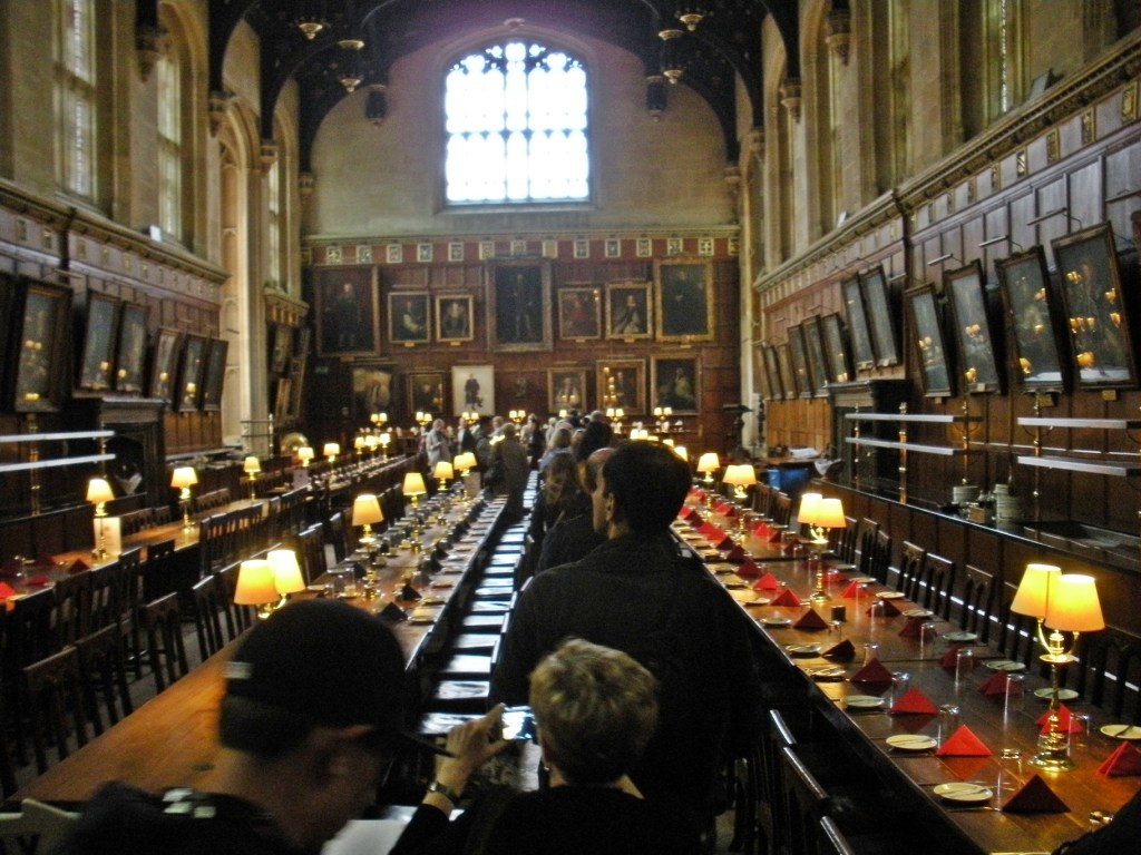 Dining Hall at Christ Church College, Oxford