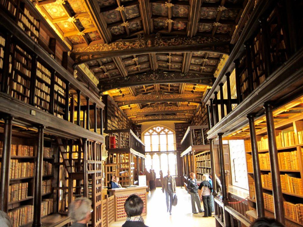 Hogwarts library aka The Duke Humphrey's Library