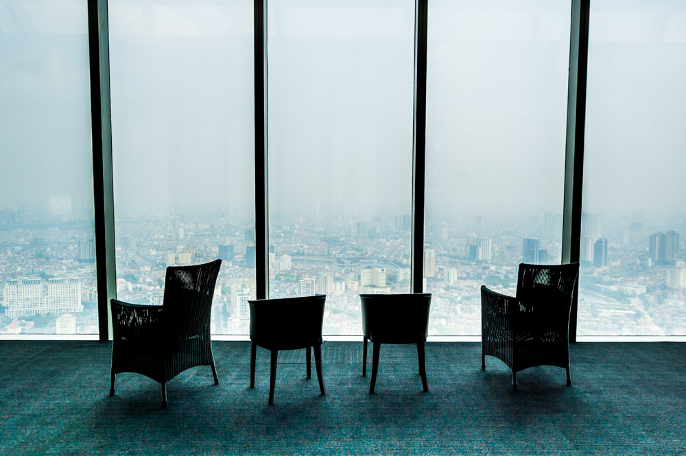 things to do in Hanoi, Lotte Center observation deck, Global Gal Sarah
