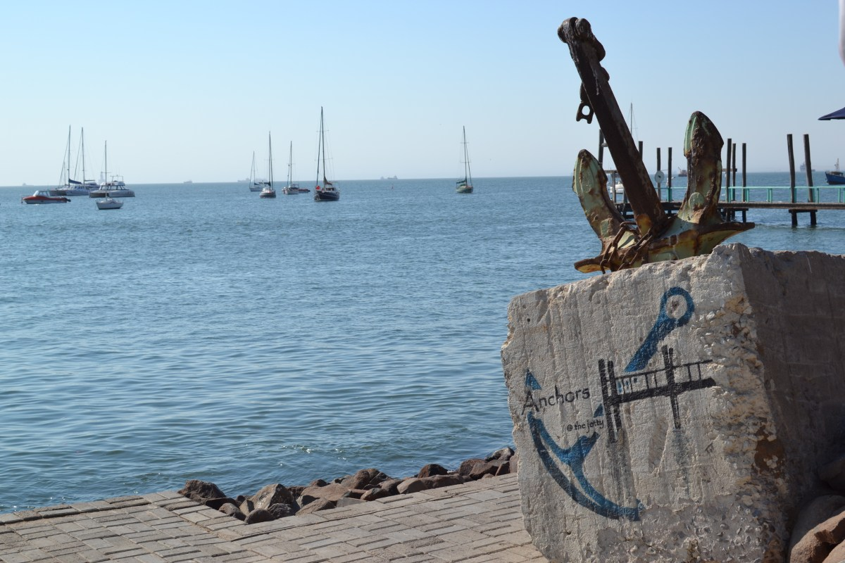 Anchors at the Jetty_Walvis Bay
