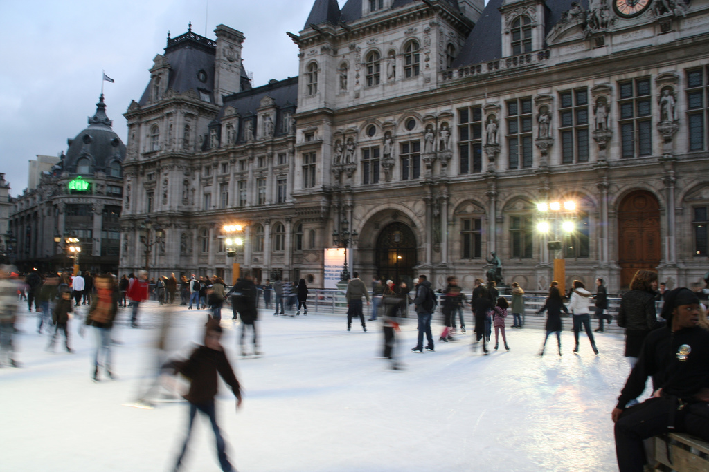 ice skating hotel du ville paris