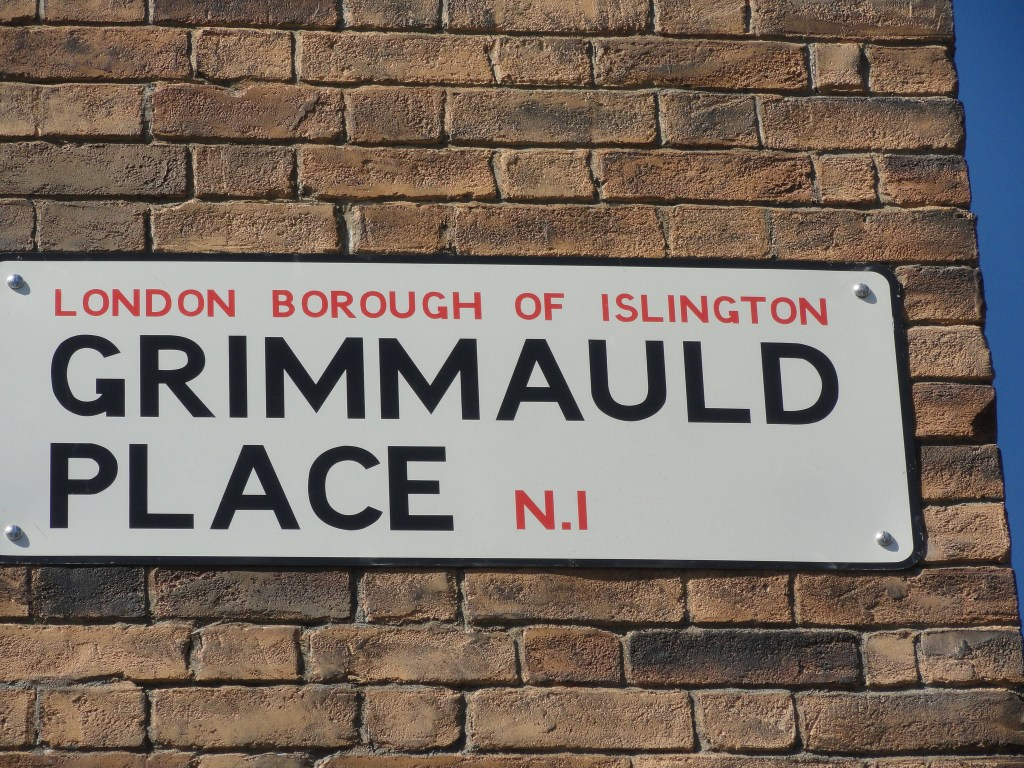 Sign of Grimmauld Place London